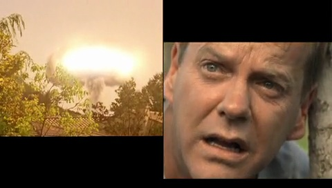 Jack Bauer stares at nuke in 24 Season 6