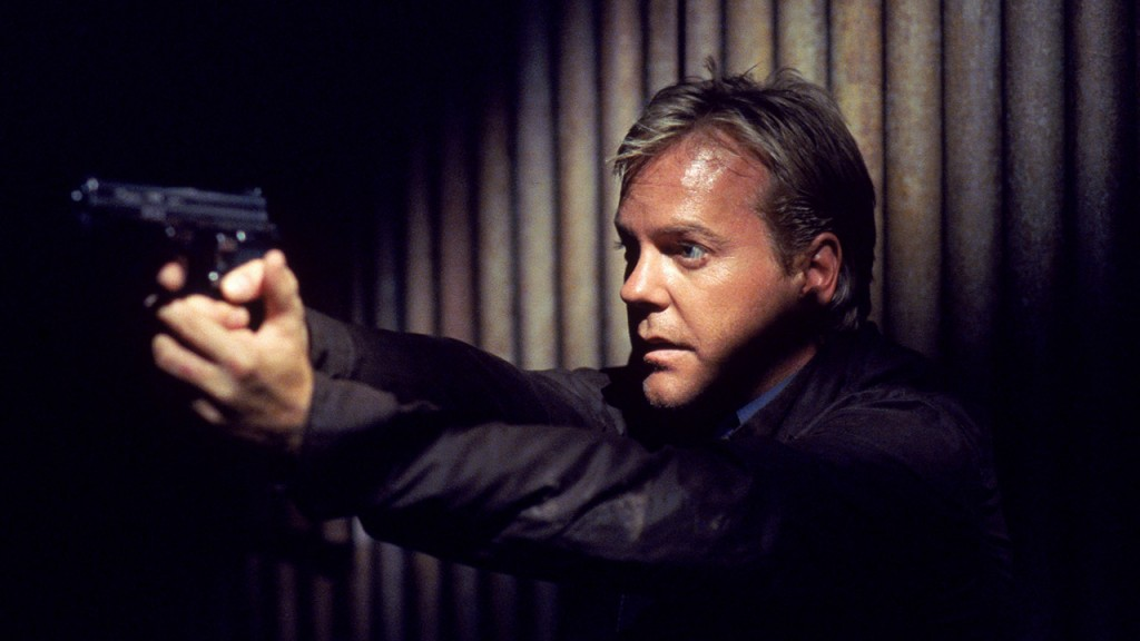 Jack Bauer ready for action in 24 Season 1