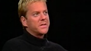 Kiefer Sutherland on Charlie Rose December 2001