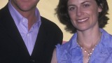 Kiefer Sutherland and Sarah Clarke at FOX Upfront 2002