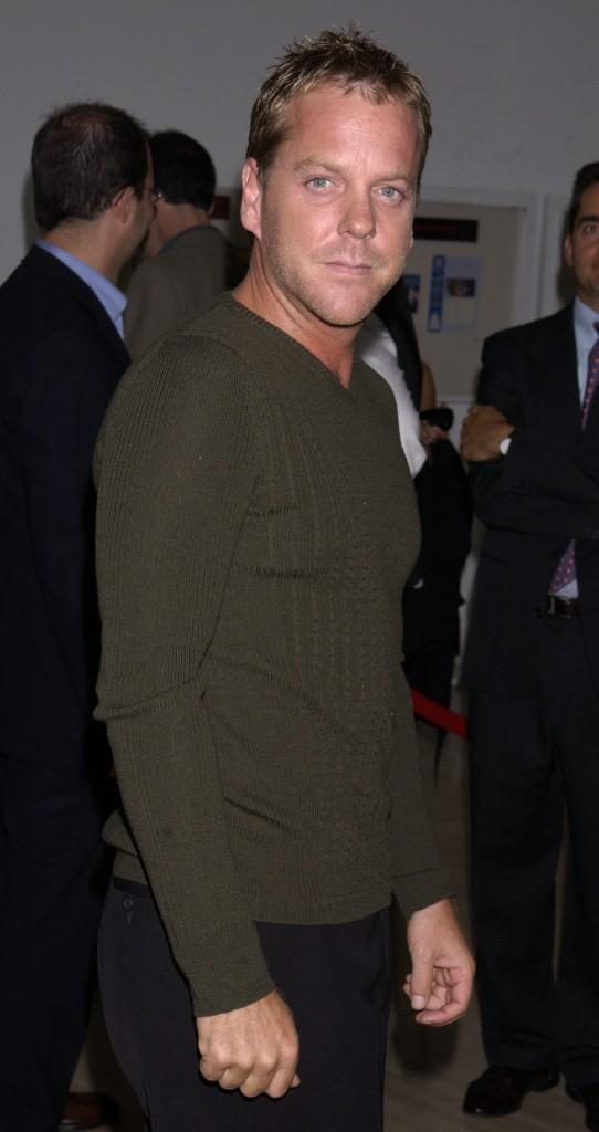 Kiefer Sutherland at 24 Screening