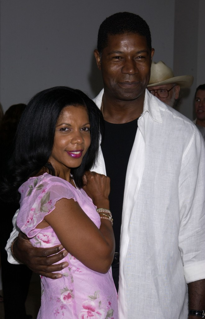 Penny Johnson Jerald and Dennis Haysbert at 24 Screening