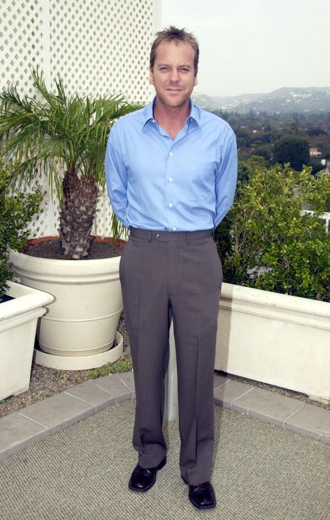 Kiefer Sutherland at 24 Season 2 Press Conference