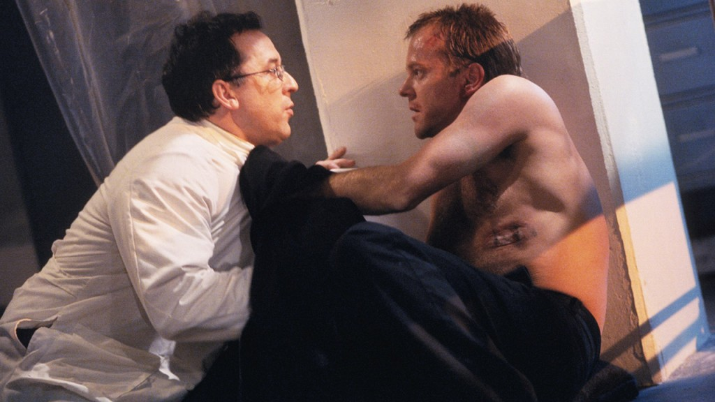 Jack Bauer convinces Dr. Spire to help him escape his torturers in 24 Season 2 Episode 20