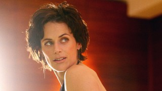 Sarah Clarke in a photo shoot
