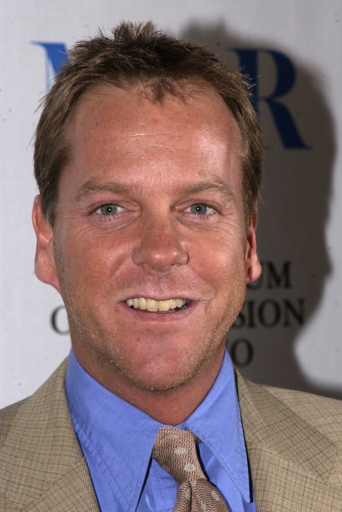 "Kiefer Sutherland at The 20th Anniversary William S. Paley Television Festival Presents ""24"""