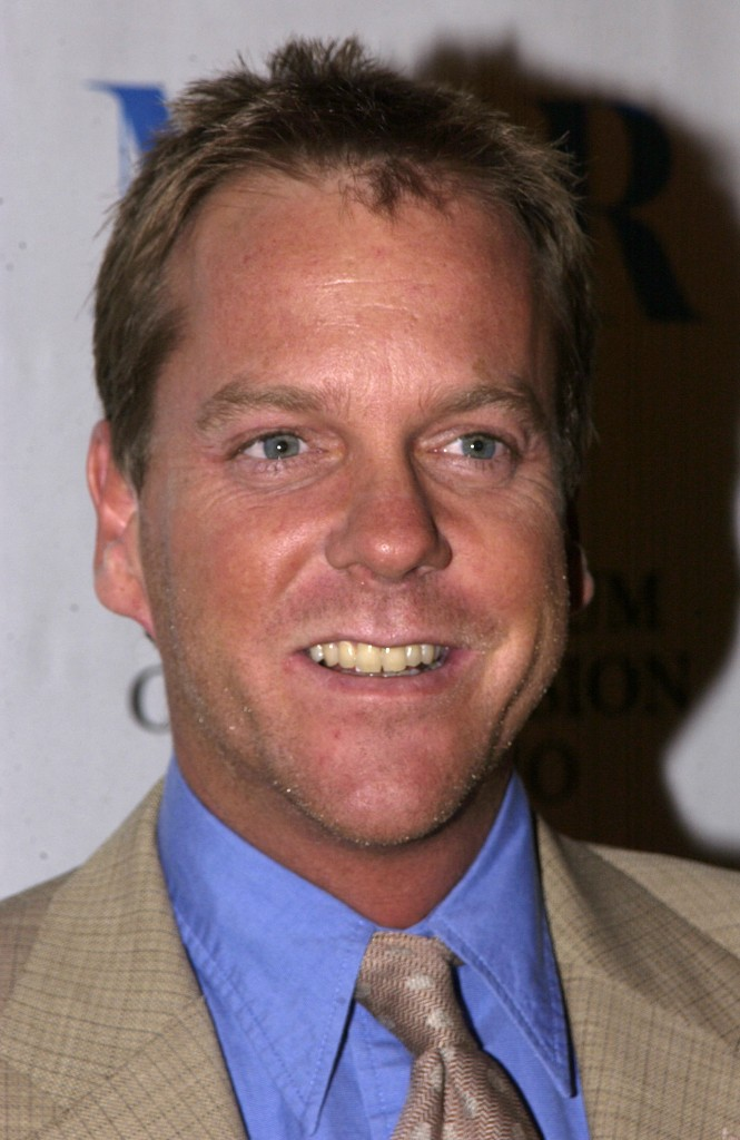 """Kiefer Sutherland at The 20th Anniversary William S. Paley Television Festival Presents """"24"""""""
