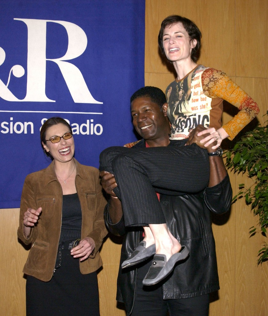 "Michelle Forbes, Dennis Haysbert, and Sarah Clarke at The 20th Anniversary William S. Paley Television Festival Presents ""24"""