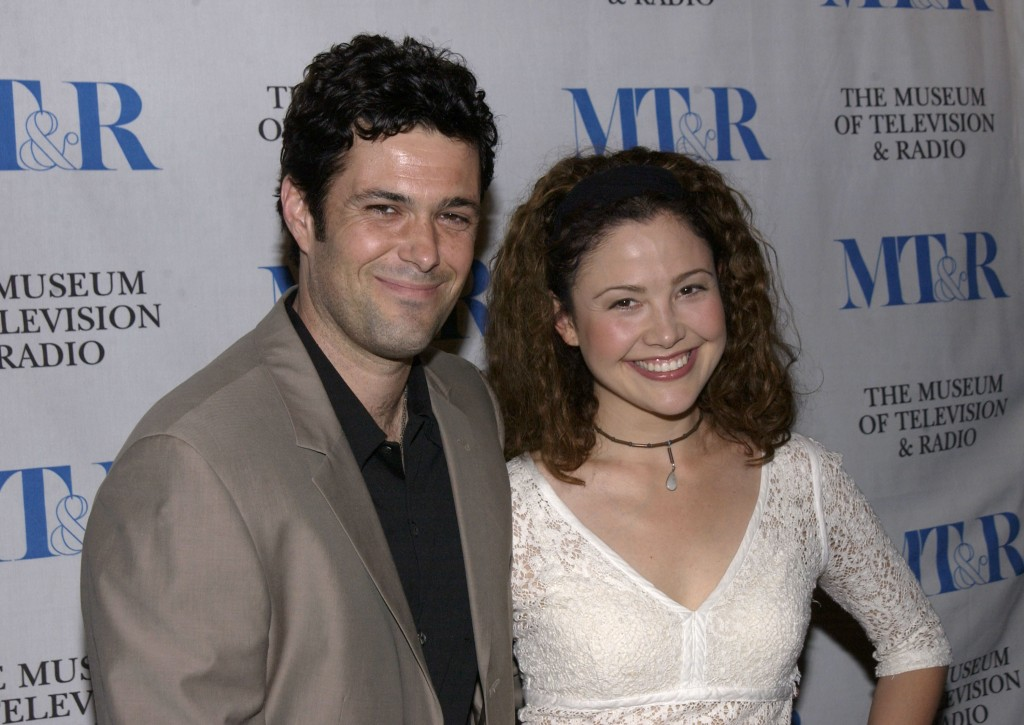 Reiko Aylesworth And Carlos Bernard At The 20th Anniversary William
