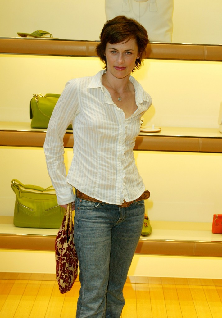 Sarah Clarke at Tod's Beverly Hills Boutique Charity Event To Benefit Caring For Children & Families With Aids