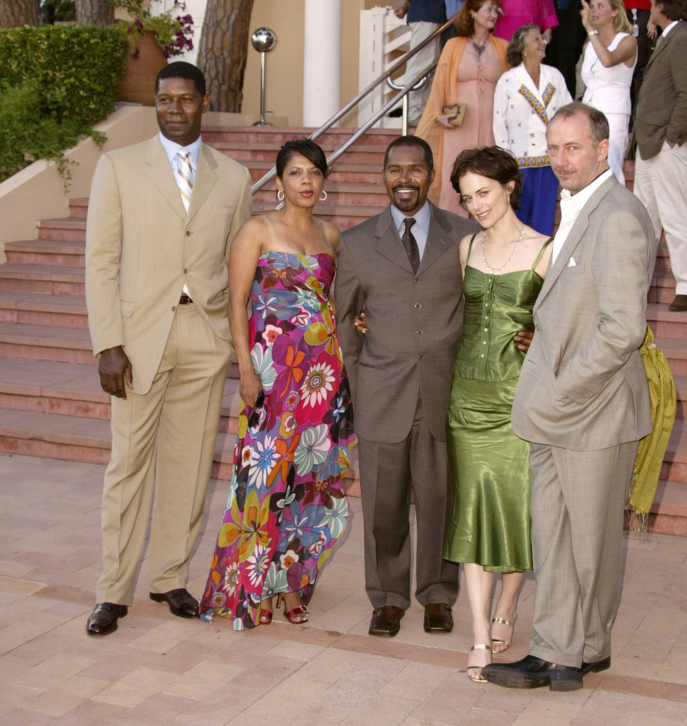 Dennis Haysbert, Penny Johnson Jerald, Gralin Jerald, Sarah Clarke and Xander Berkeley