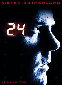24 Season 2 DVD Cover