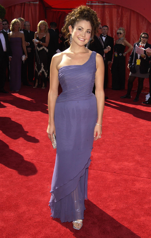 Reiko Aylesworth On Red Carpet Of 55th Annual Primetime Emmys 24