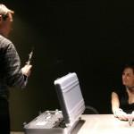 Nina Myers interrogated in 24 Season 3