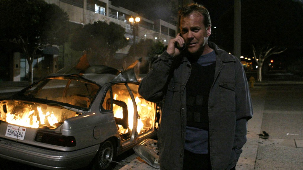Jack Bauer gets a phone call from Stephen Saunders after Michael Amador is killed