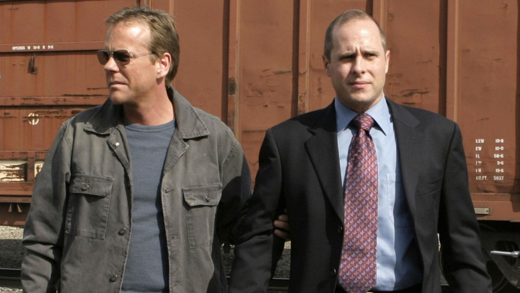Jack Bauer with Ryan Chapelle in 24 Season 3 Episode 18