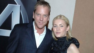 Kiefer Sutherland and Elisha Cuthbert celebrate the 100th episode