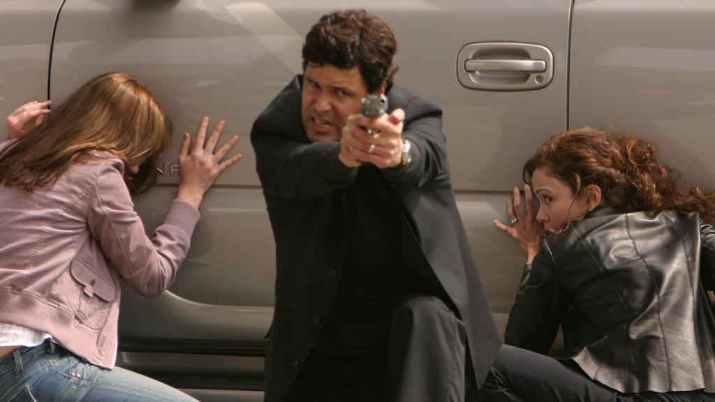 Tony Almeida gets into a gun fight with Saunders men in 24 Season 3 Episode 22