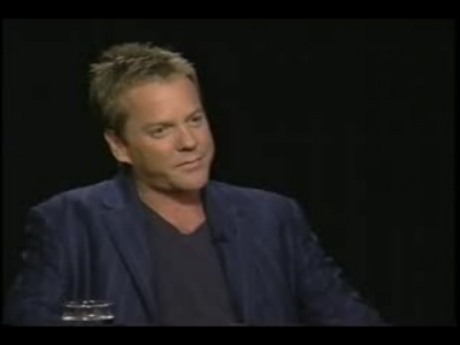 Kiefer Sutherland talks 24 Season 4 on Charlie Rose
