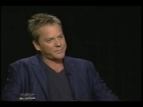 Kiefer Sutherland talks 24 Season 4 on Charlie Rose