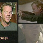 Kiefer Sutherland segment on Extra