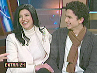 Shohreh Aghdashloo and Jonathan Ahdout on Extra