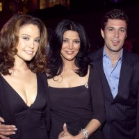 Reiko Aylesworth, Shohreh Aghdashloo and Carlos Bernard at A&E Network Upfronts