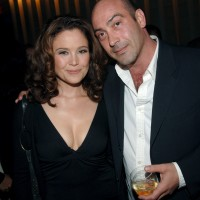 Reiko Aylesworth and John Ventimiglia at A&E Network Upfronts