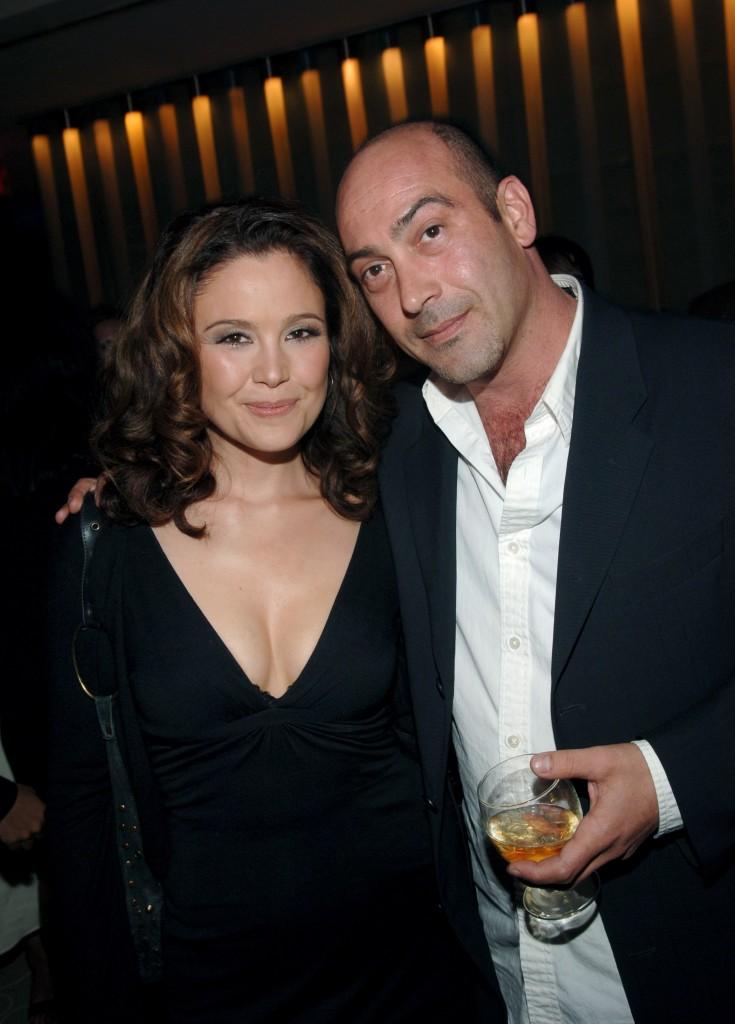 Reiko Aylesworth and John Ventimiglia at A&E Network Upfronts
