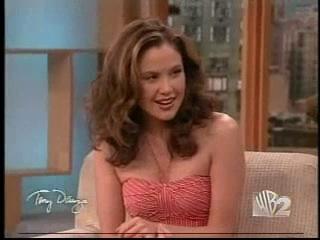 Reiko Aylesworth on the Tony Danza Show