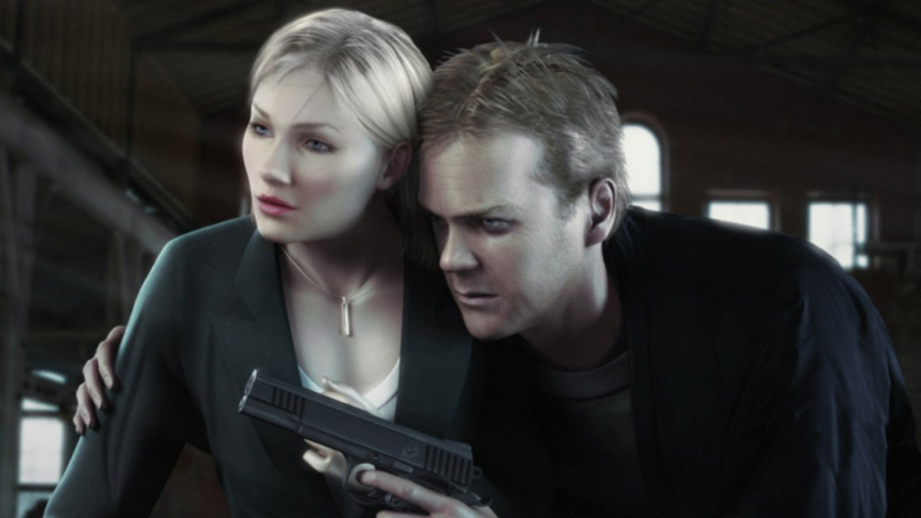 Kim and Jack Bauer in 24: The Game
