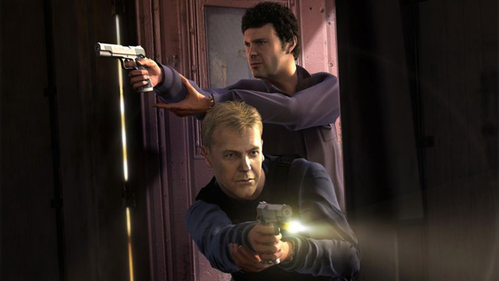 Tony Almeida and Jack Bauer in 24: The Game