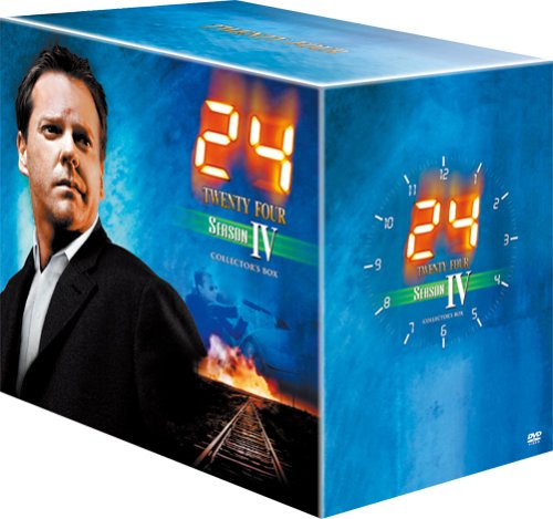 24 Season 4 Japanese DVD set