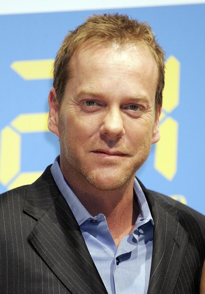 """Kiefer Sutherland Promotes """"24"""" In Tokyo"""