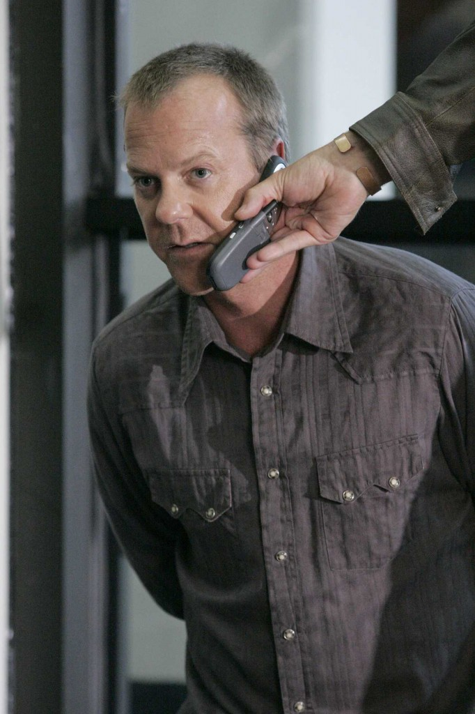 Jack Bauer held hostage 24 Season 5 Premiere