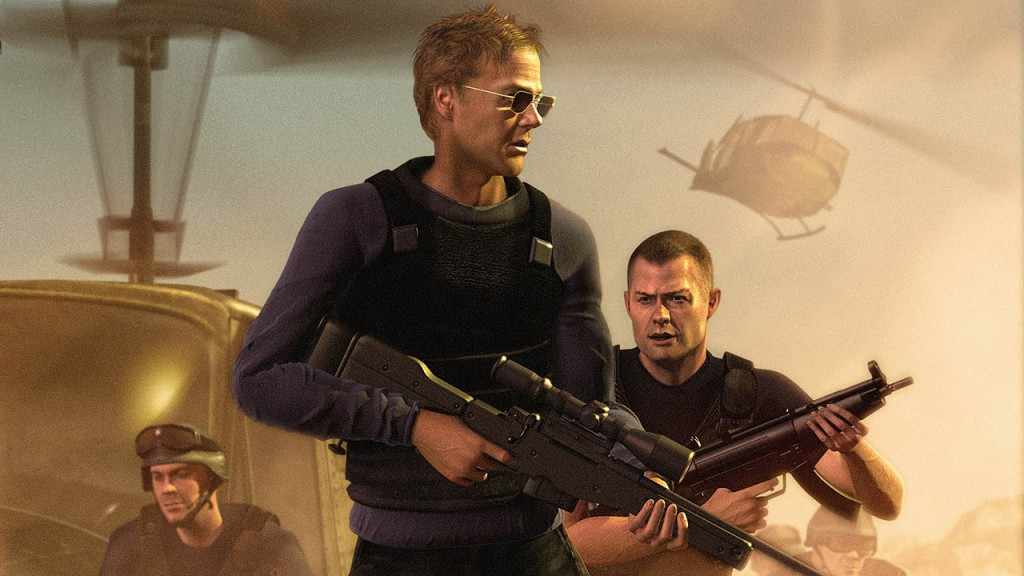 Jack Bauer and Chase Edmunds in 24: The Game artwork