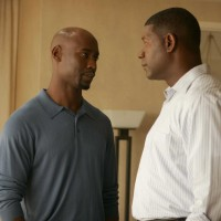 Wayne and David Palmer in 24 Season 5 premiere