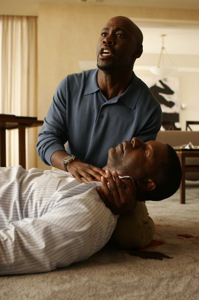 David Palmer shot and killed in 24 Season 5 premiere