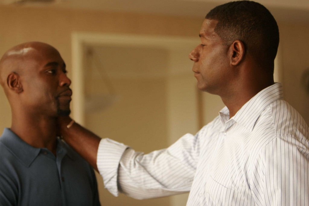 David and Wayne Palmer in 24 Season 5 Episode 1