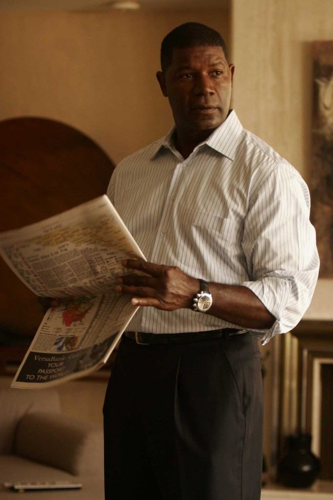 Dennis Haysbert as David Palmer in 24 Season 5 Premiere