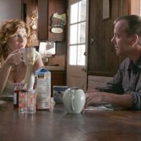 Diane Huxley and Jack Bauer eat breakfast in 24 Season 5 premiere