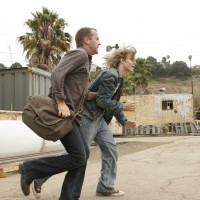 Jack Bauer brings Derek Huxley to the helicopter in 24 Season 5 Episode 1