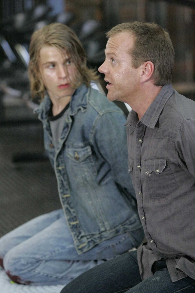 Jack Bauer and Derek Huxley are captured by the terrorists in 24 Season 5 Episode 4