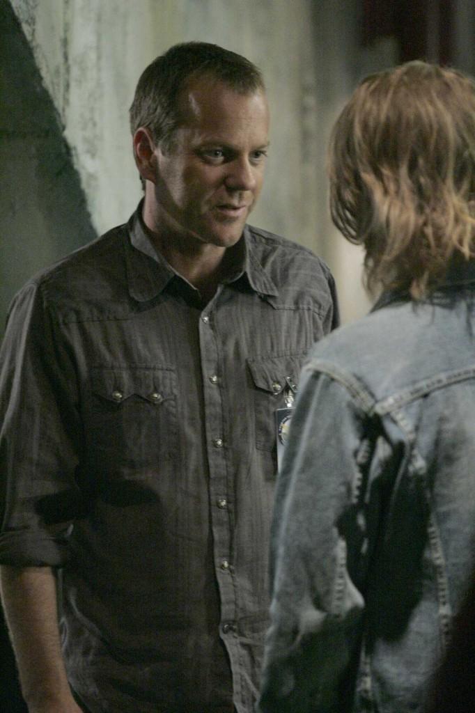 Jack Bauer says goodbye to Derek Huxley in 24 Season 5 Episode 5