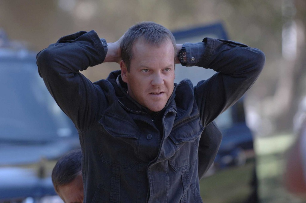 Jack Bauer detained at the presidential retreat in 24 Season 5 Episode 6