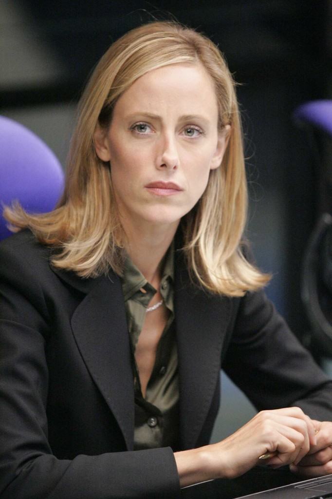 Kim Raver as Audrey Raines in CTU 24 Season 5 Episode 6