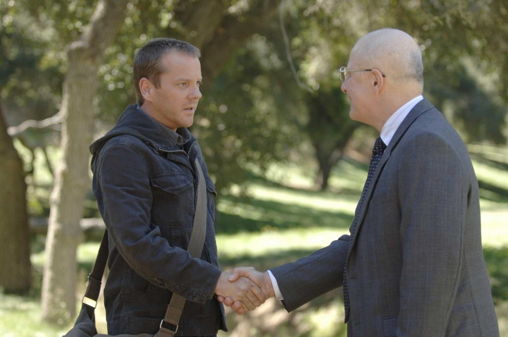 Jack Bauer and Mike Novick 24 Season 5 Episode 6