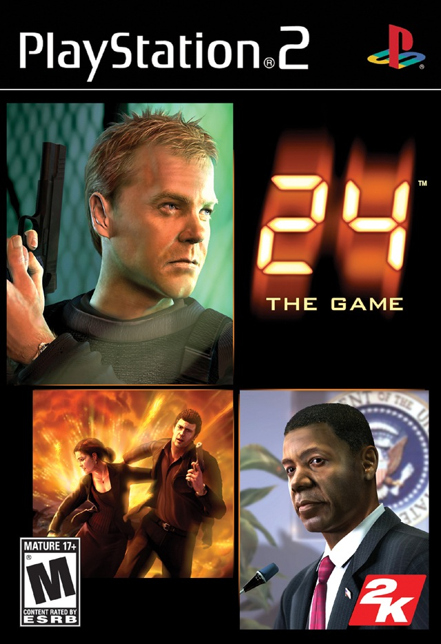 24: The Game box art