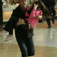 Jack Bauer saves a little girl in 24 Season 5 Episode 8