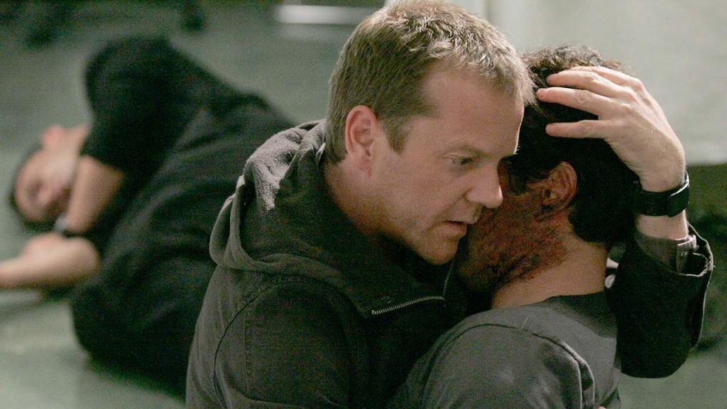 Tony Almeida dies in Jack Bauer's arms in 24 Season 5 Episode 13